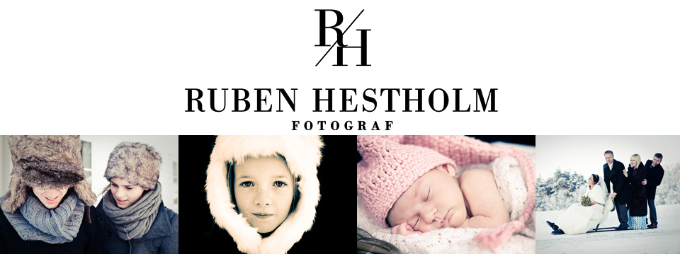 Fotograf Ruben Hestholm logo